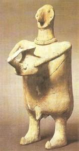 Фигурный сосуд. Курдистан. 8 век до н.э.