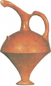 Керамический сосуд. Кюльтепе. XVIII в. до н.э. Хетты