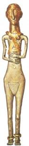 Женская статуэтка. Хетты