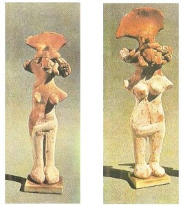 Статуэтки богини-матери. Мохенджо-Даро. Терракота