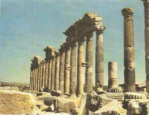 Улица в Пальмире. 1 век