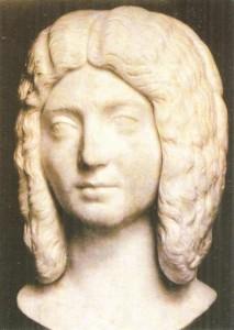 Юлия Домна, супруга Септимия Севера. 3 век н.э.