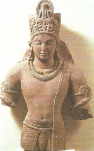 Бог Вишну. Гуптский период. 4-5 века.