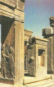 Центральный зал Дария I. Персеполь. 5 век до н.э.