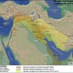 Карта Аккадской державы и III династии Ура