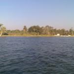 Озеро Карун в Фаюмском оазисе
