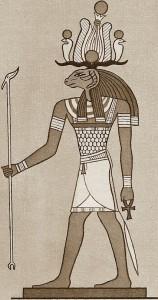 Херешеф - бог с головой барана