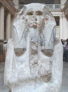 Статуя Джосера.