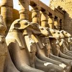 Аллея в храме Амона