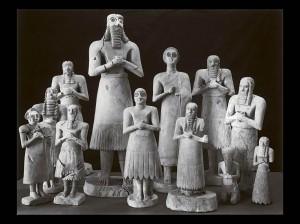 Фигуры богов из Эшнунны