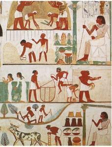 Фреска из гробницы Нахта