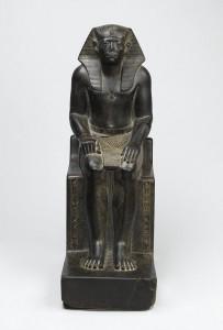 Гранитная статуэтка Сенусерта III