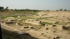 Раскопки на месте Хараппы.