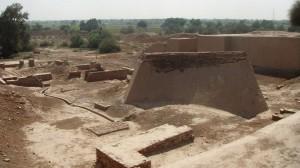 Современный вид руин Хараппы.