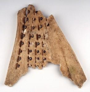 Гадальная кость, относящаяся к династии Шань (XIV-XI вв. до н.э.)