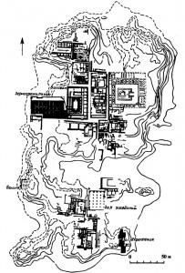 План поселения Моохенджо-Даро