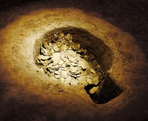 Яма с гадательными костями, найденная в столице династии Шань - Аньяне (Инсюй). 1766-1050 до н.э.