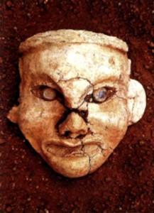 Голова богини-матери. IV тыс. до н.э.