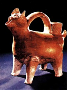Сосуд в виде животного. IV-III тыс. до н.э.