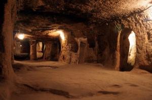 Туннели и комнаты подземного Невшехира