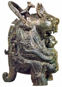 Сосуд для жертвенного вина. Древний Китай.