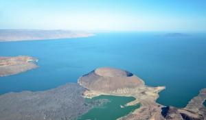 Вид на озеро Туркана