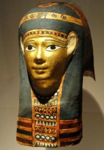 Похоронная египетская маска. Птоломеевский Египет 320-30 гг. до н.э.