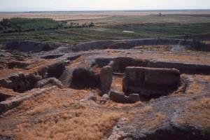 Чатал-Хююк, фотография первых раскопок.