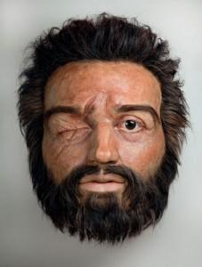 Реконструкция лица Филиппа II, что в свете последних исследований может оказаться неправдой.