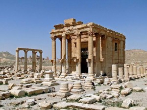 Храм Баалшамина в Пальмире.