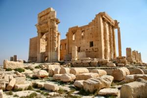 Храм Бэла в Пальмире.