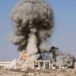 Уничтожение храма Баалшамина.