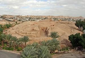 Современный вид на холм Иерихона