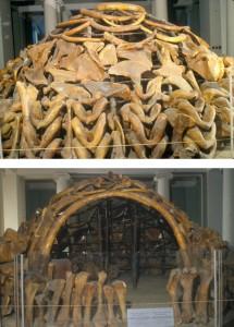 Палеолитическое жилище в Межиричах (Киевская область, Украина). 16-12 тыс. лет до н.э.