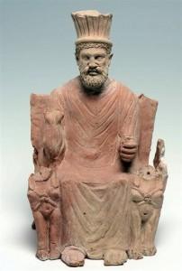 Верховный бог карфагенян - Баал Хаммон.