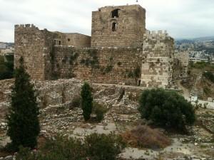 Цитадель города Библа.