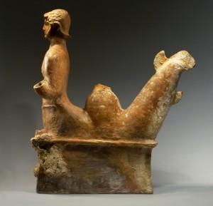 Финикийский морской бог. Терракота. VI в. до н.э.