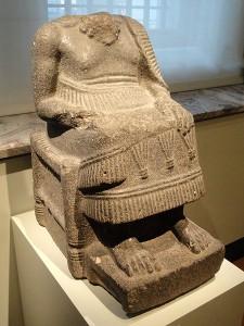 Статуя правителя Эблы. 2000-1600 гг. до н.э.