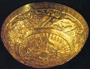 Золотая чаша из Угарита