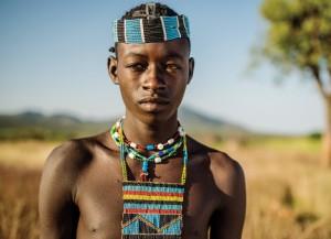 Мальчик из народа ари.