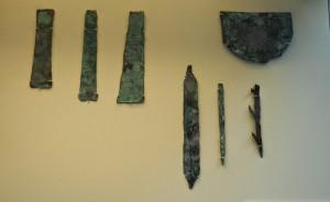 Инструменты из гробницы фараона Хотесемеуи