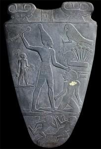 Палетка Нармера. Ок. 3000 г. до н.э.