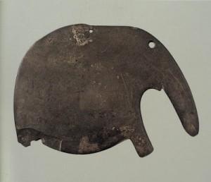 Палетка в виде слона.