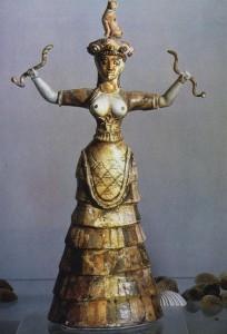 Богиня со змеями