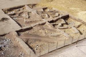 Дом или храм на территории Авариса.