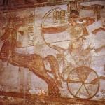 Рамсес II в битве при Кадеше. Храм Абу-Симбел.