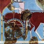 Две женщины на колеснице