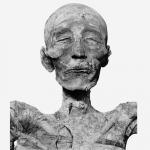 Голова мумии Мернептаха, найденная в 1898 г. Лоре.