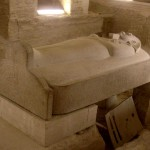 Саркофаг фараона.