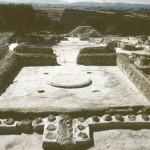 Останки дворца в Пилосе.